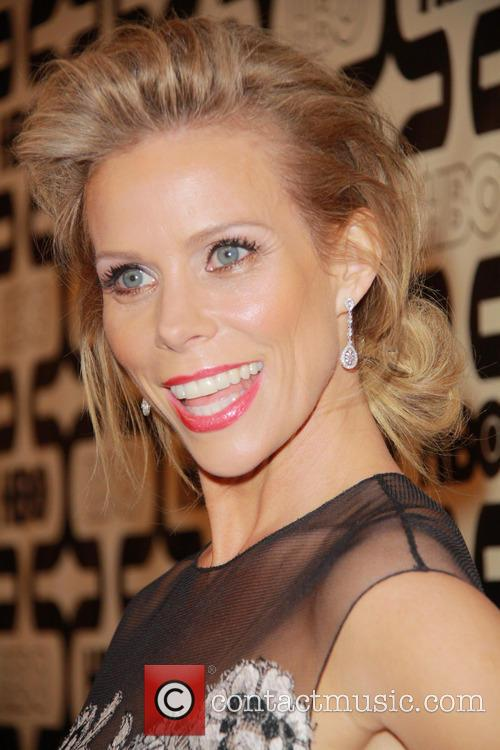 Cheryl Hines and Beverly Hilton Hotel 1