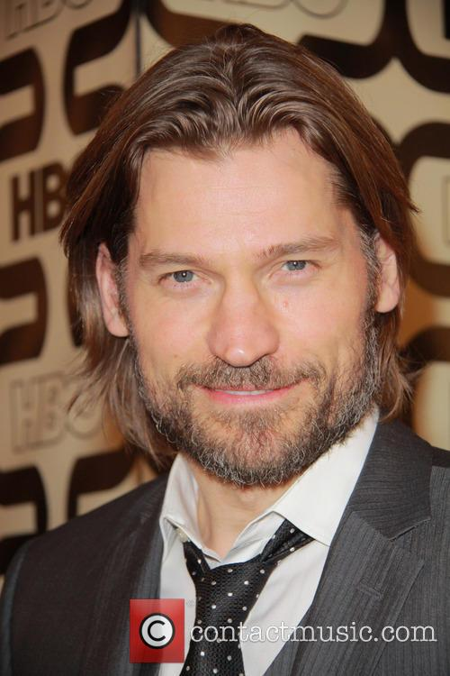 Nikolaj Coster-waldau and Beverly Hilton Hotel 1