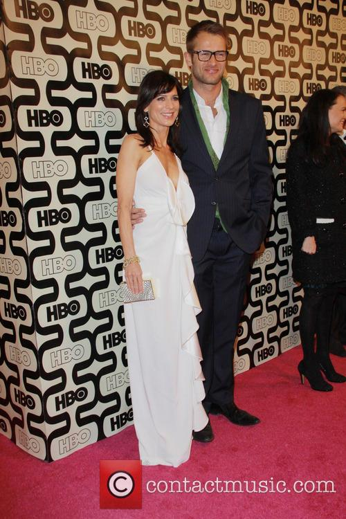 Perrey Reeves, Johann Urb and Beverly Hilton Hotel 5