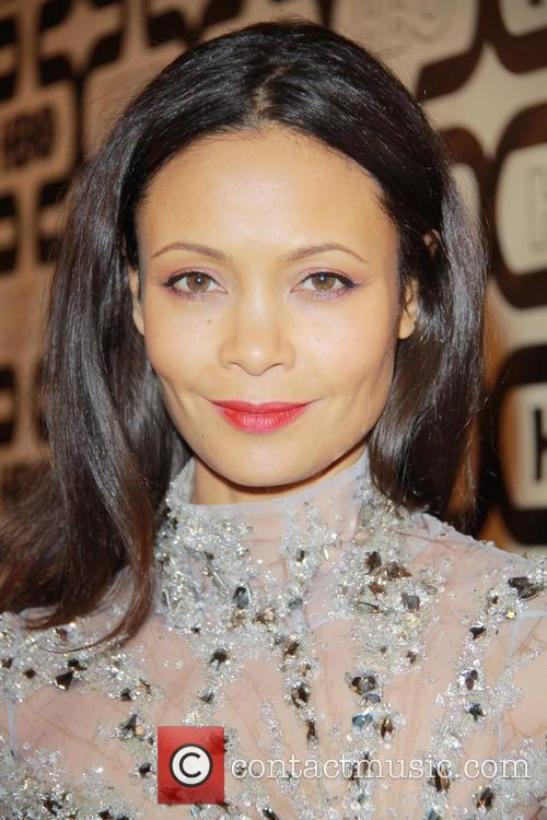 Thandie Newton and Beverly Hilton Hotel 1