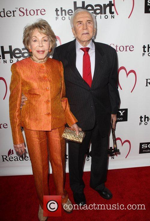 Anne Douglas and Kirk Douglas