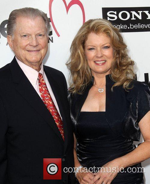 Burt Sugarman and Mary Hart 1