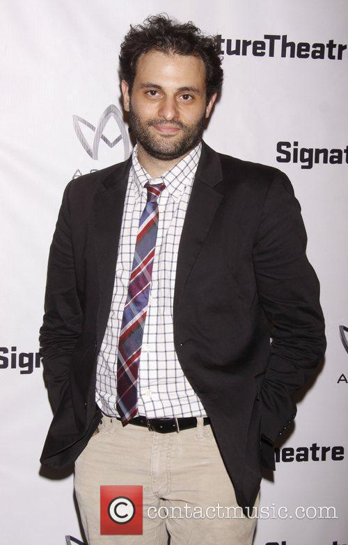 Arian Moayed Opening night after party for 'Heartless'...