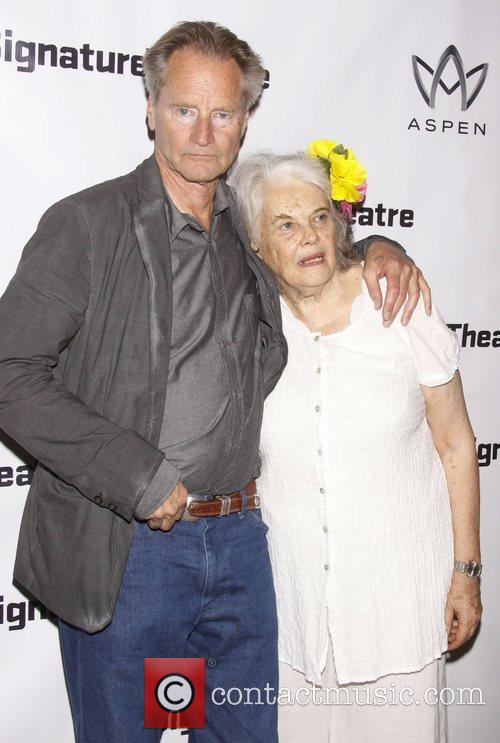 Sam Shepard and Lois Smith  Opening night...
