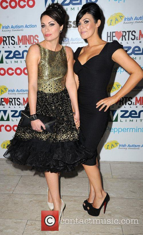 Alison King and Kym Marsh 2