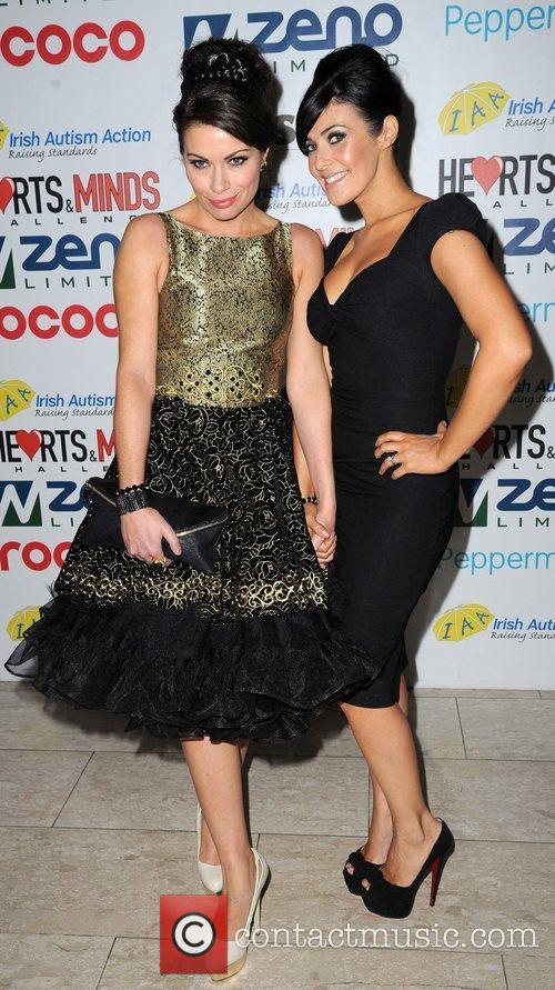 Alison King and Kym Marsh 1