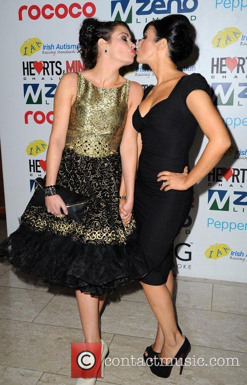 Alison King and Kym Marsh 7