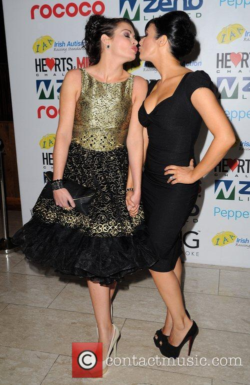 Alison King and Kym Marsh 8