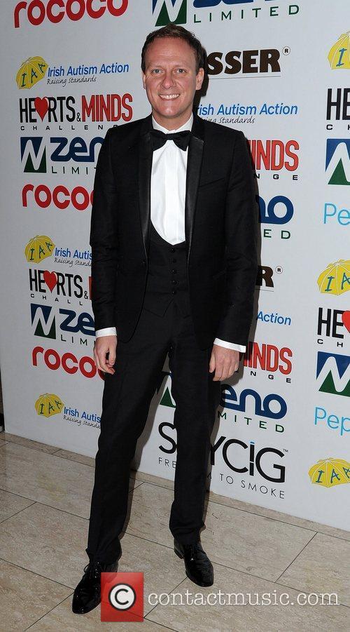 Antony Cotton Hearts and Minds Charity Ball, held...