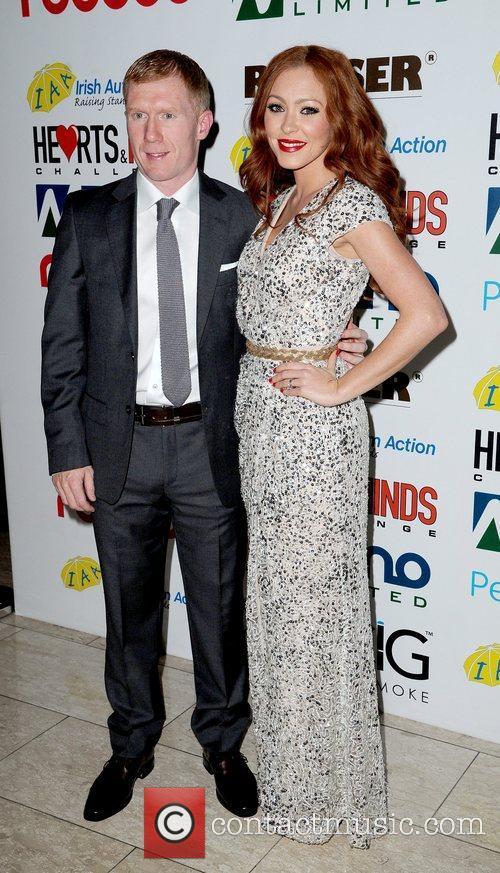 Paul Scholes and Natasha Hamilton Hearts and Minds...