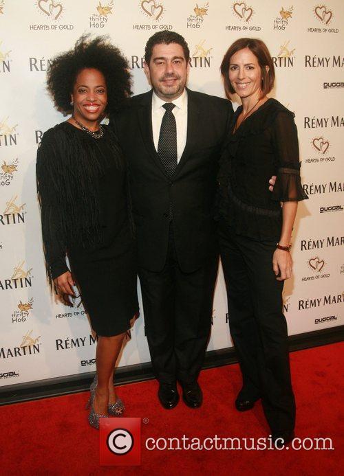 Rhonda Ross, Alvaro Domingo and Annika Pergament...