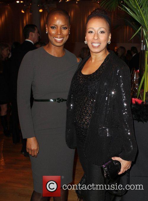 Sidra Smith and Tamara Tunie Hearts of Gold...