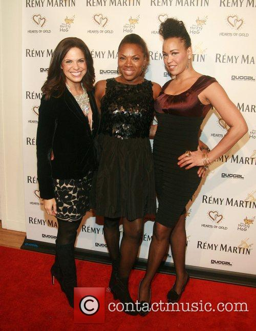 Soledad O'brien, Rhonda Ross and Maya Azucena 2