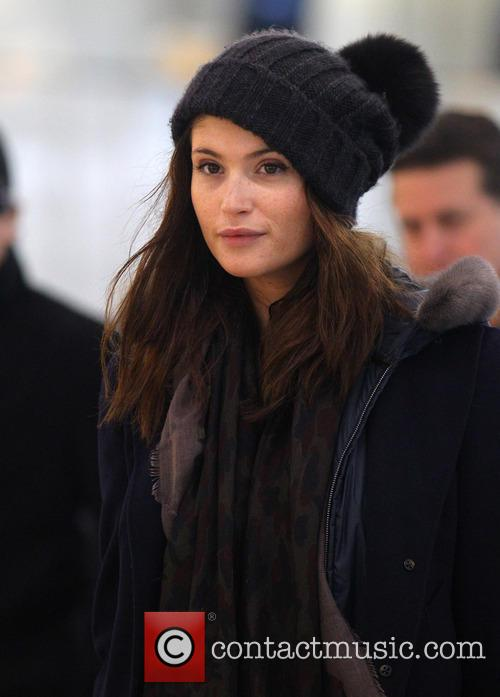 Gemma Arterton at Heathrow