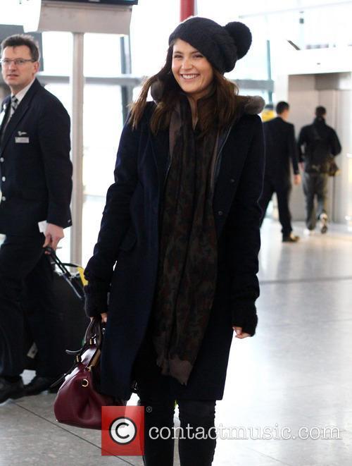 Gemma Arterton Celebrities at Heathrow Airport  Featuring:...