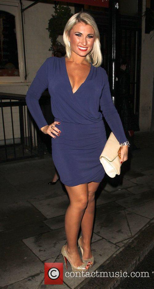 Billy Faiers head for Crazy Bear Members Club...