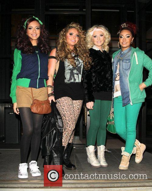 Jade Thirlwall, Jesy Nelson, Perrie Edwards and Leigh-Anne...