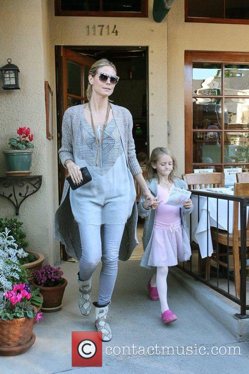 Heidi Klum, her children, and their nanny are...