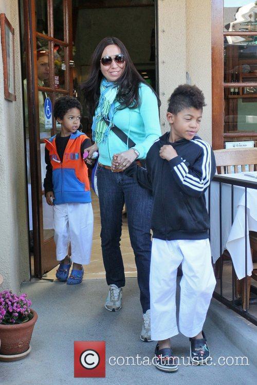 Johan Samuel, Henry Samuel Heidi Klum, her children,...