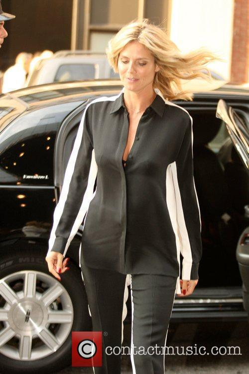 Heidi Klum and Manhattan Hotel 3