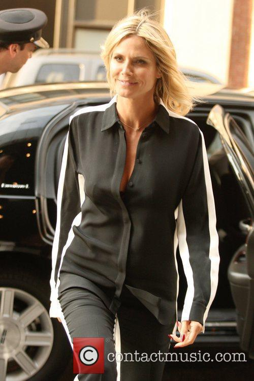 Heidi Klum and Manhattan Hotel 4