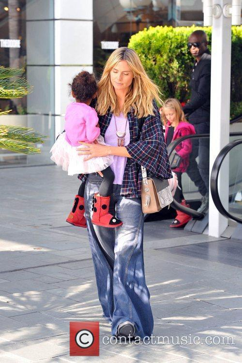 heidi klum seal and their daughters leni 5776397
