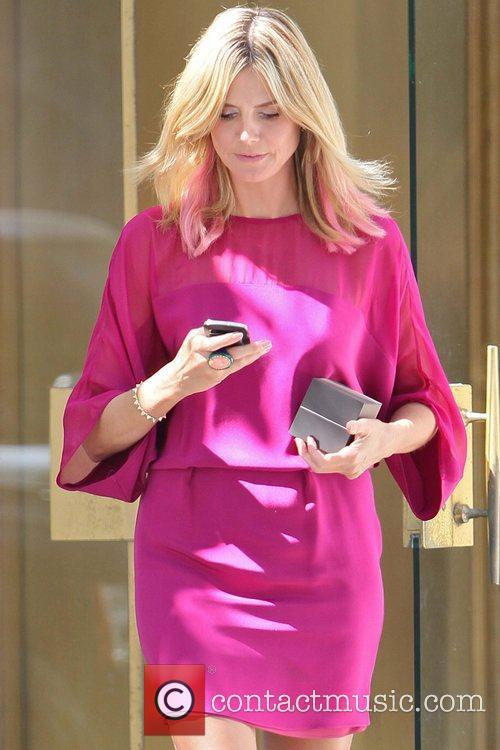 heidi klum seen leaving a jewelers in 5912770
