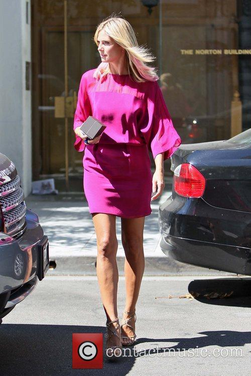 Seen leaving a jewelers in Beverly Hills. Heidi...