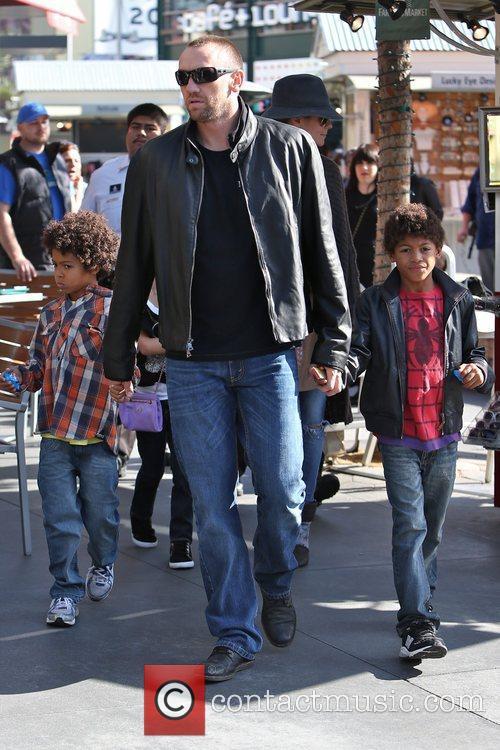 heidi klum seen with her children henry 5956188