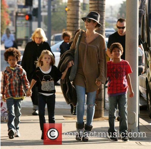 heidi klum seen with her children henry 4183644