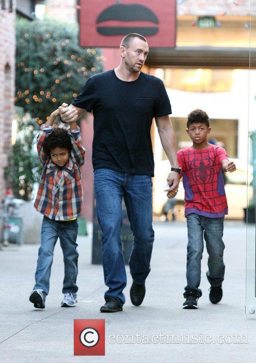 Heidi Klum's children with her boyfriend Martin Kristen...