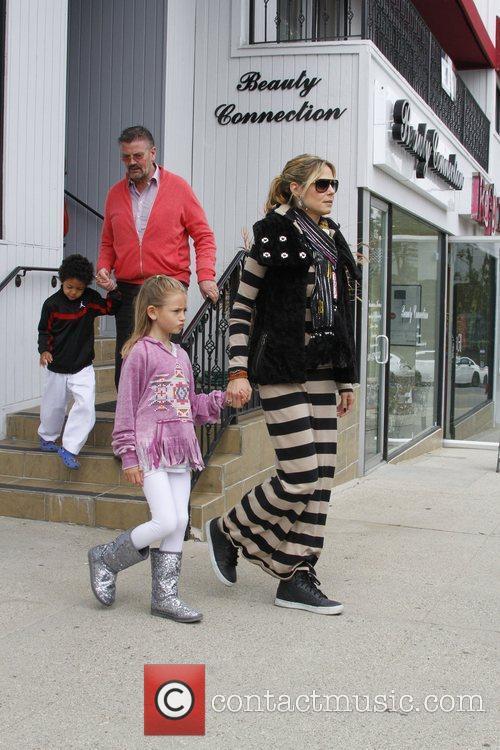 Heidi Klum and Gunther 6