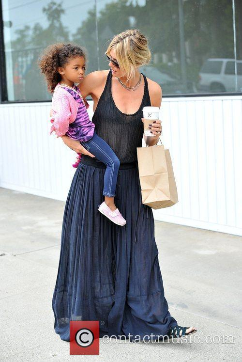 heidi klum and lou sulola samuel shopping 3922808