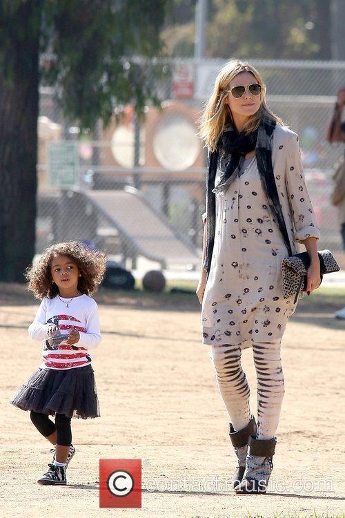 heidi klum and daughter lou samuel heidi 5943743
