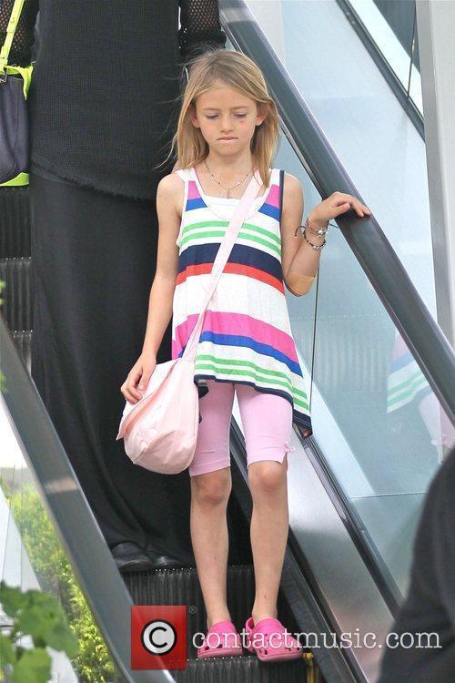 Leni Samuel is seen leaving ballet class Los...
