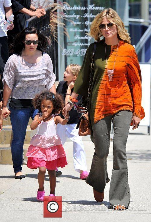 heidi klum and her children leni henry 3892661