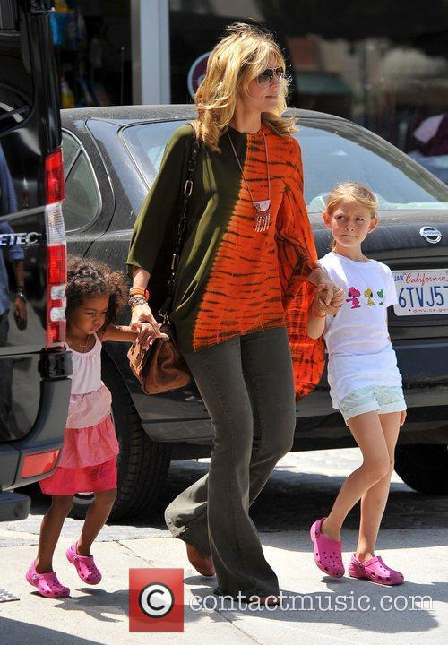 heidi klum and her children leni henry 3892663