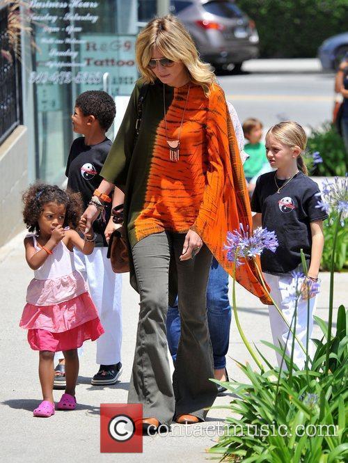 heidi klum and her children leni henry 3892668