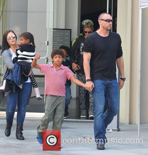 Heidi Klum and her bodyguard boyfriend Martin Kristen...