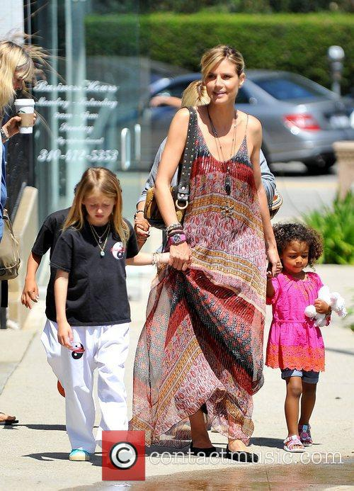 heidi klum out and about in brentwood 3843655