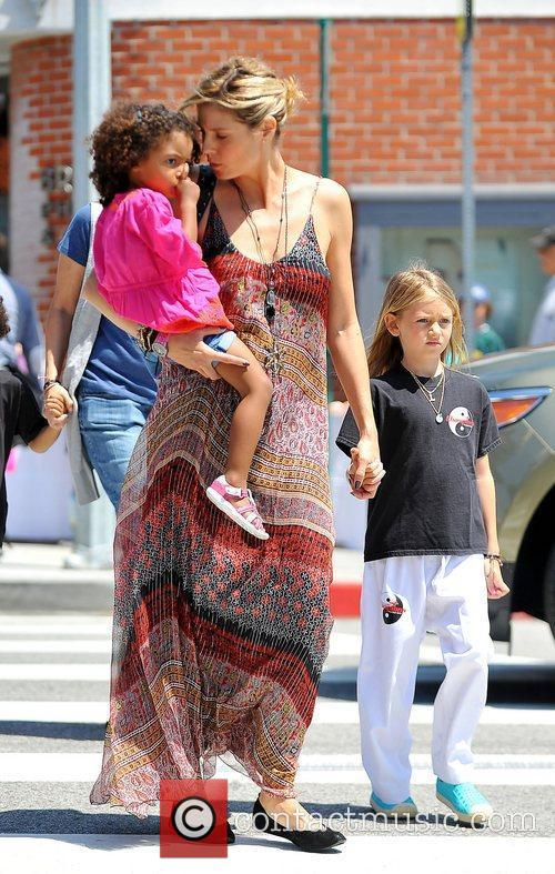 heidi klum out and about in brentwood 3843656