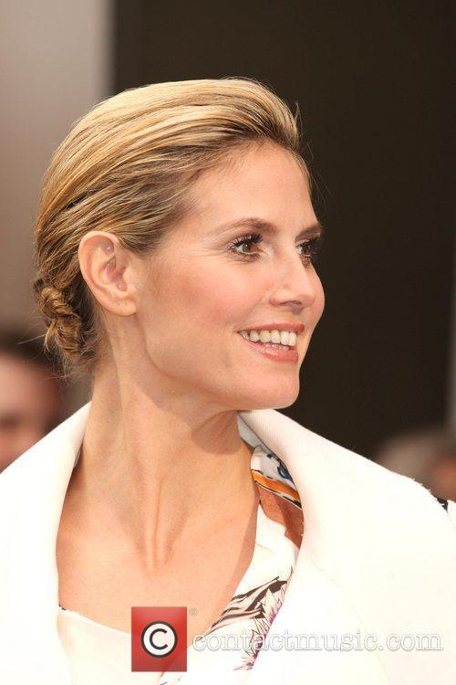 Heidi Klum launches her new fragrance Shine at...