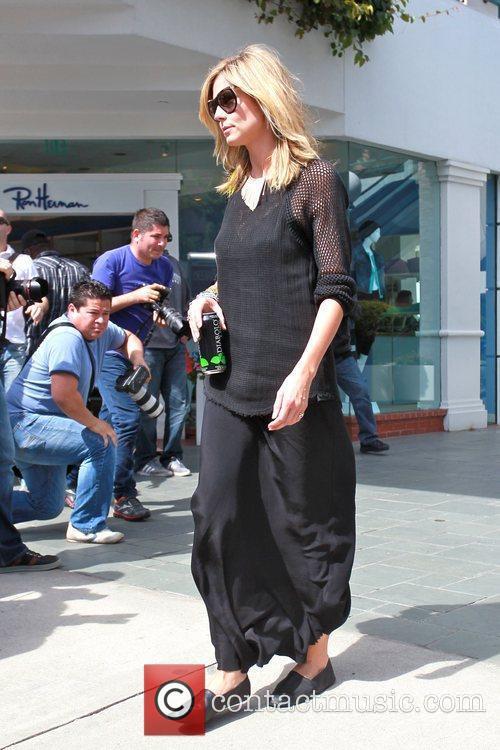 Heidi Klum and family are seen heading to...