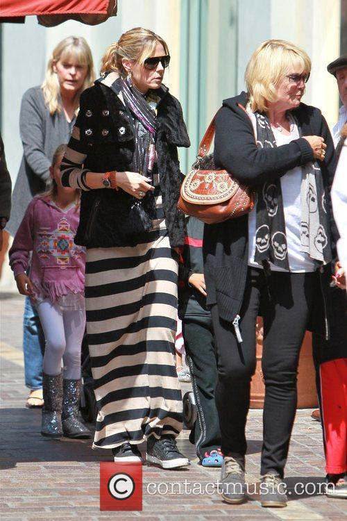 Erna Klum and Heidi Klum spend the day...