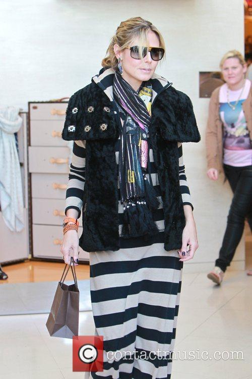 Heidi Klum and Louis Vuitton 1
