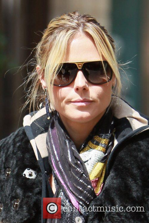 heidi klum spends the day at the 5815423