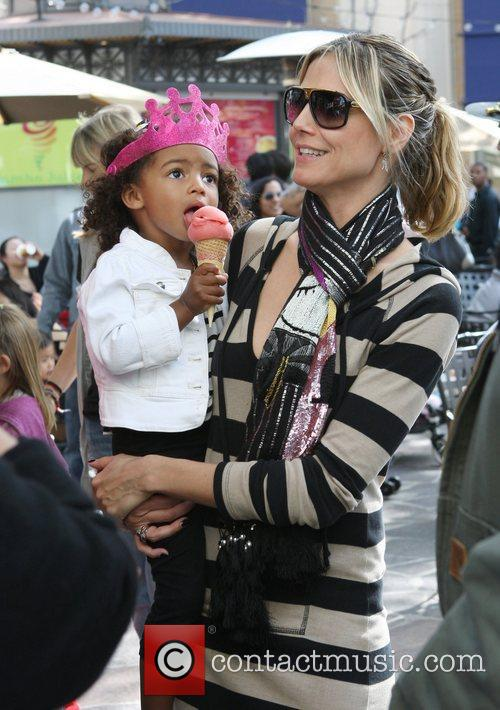 heidi klum and her family spend the 3797241