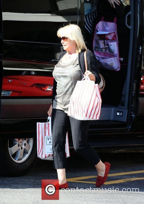 Erna Klum out and about in Brentwood Los...