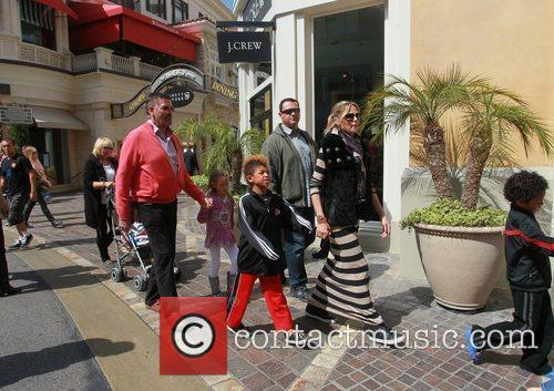 heidi klum and her family spend the 3797357