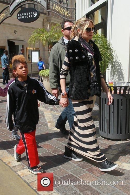 heidi klum and her family spend the 3797665